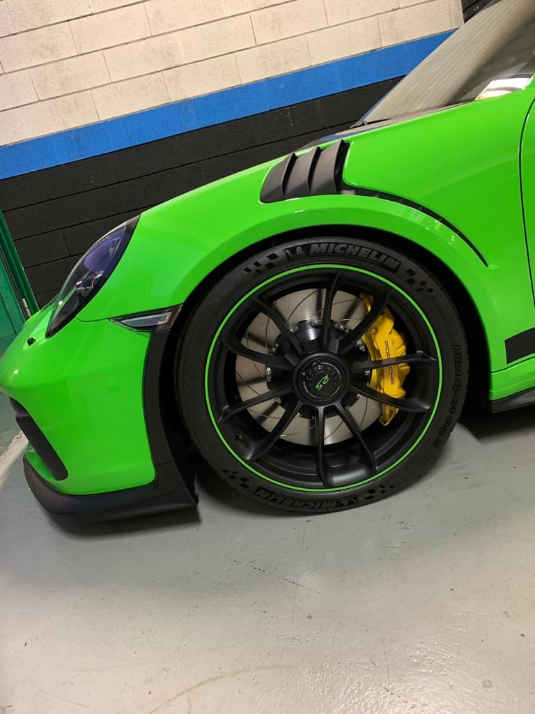 Steel disc GT3 RS